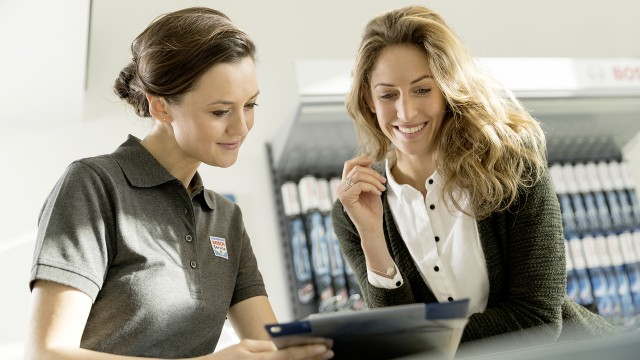 The Bosch Car Service Experience
