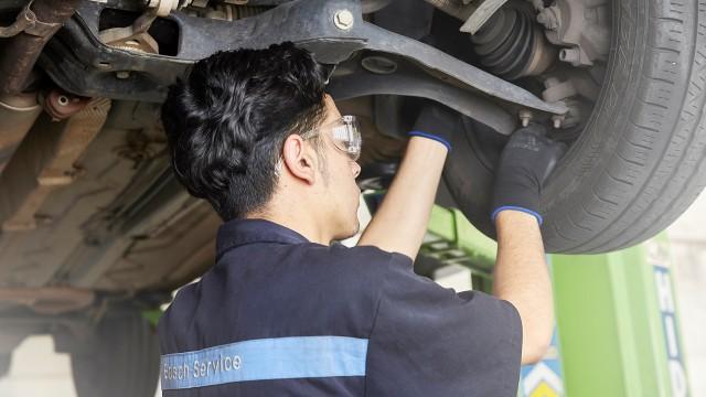Le montage des pneus par Bosch Car Service